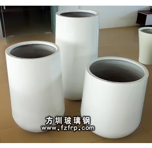 椭圆形玻璃钢花瓶