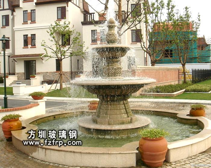 HP173室外观赏喷泉花盆