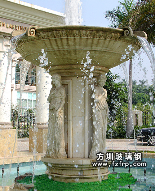 HP180大型广场喷泉花盆生