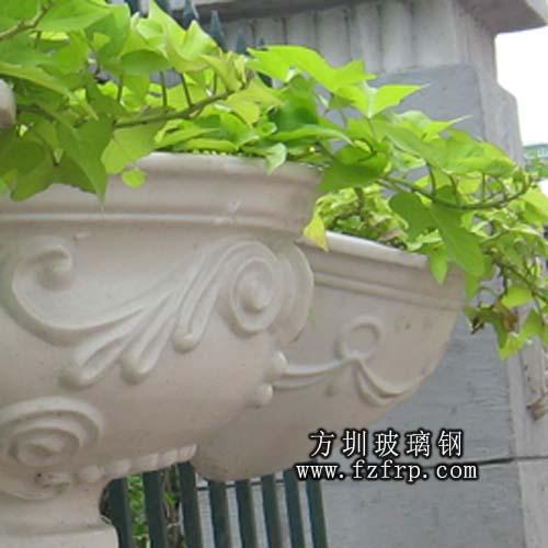 玻璃钢悬挂花盆