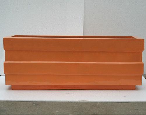 广东玻璃钢户外仿木花箱