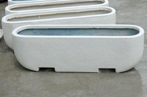 广东玻璃钢隔离花箱护栏