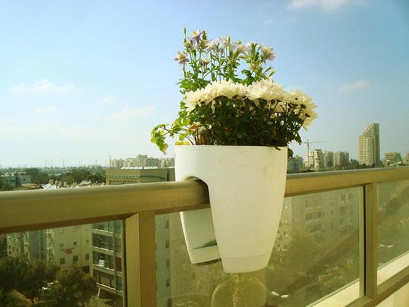 广东玻璃钢阳台护栏花盆