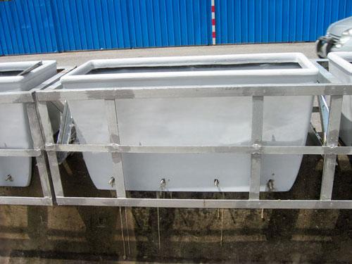 海南景区玻璃钢护栏花箱