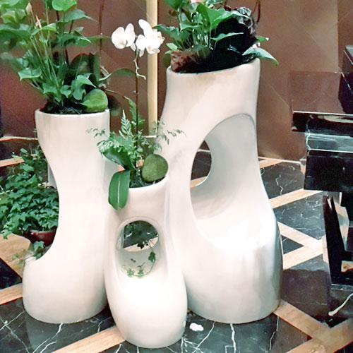 广西玻璃钢创意组合花盆