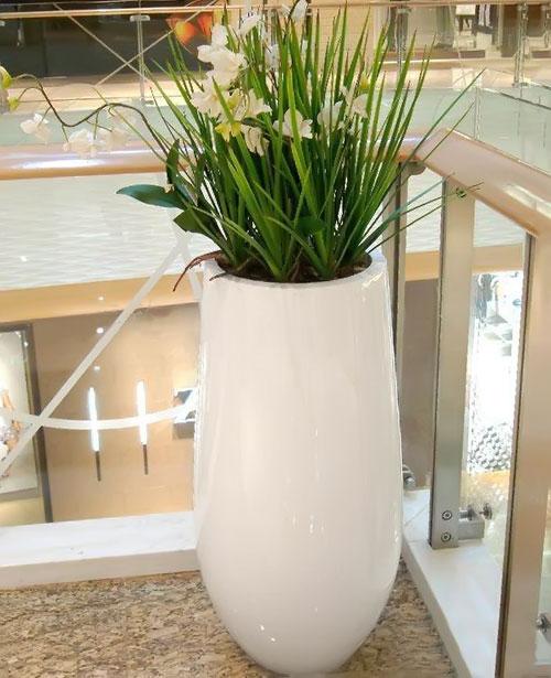 云南酒店玻璃钢装饰花瓶