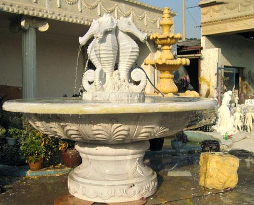 澳门玻璃钢广场喷泉花盆