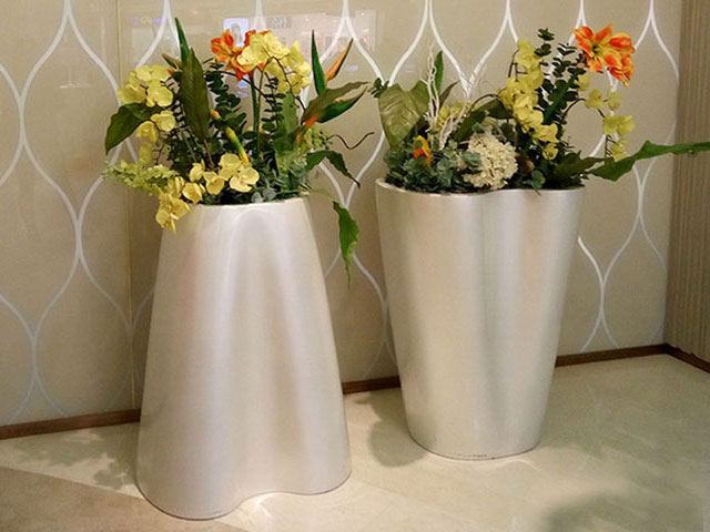 河南玻璃钢艺术组合花盆