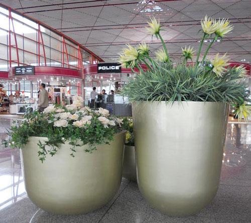 澳门玻璃钢组合花坛