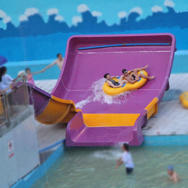 水上乐园玻璃钢滑梯