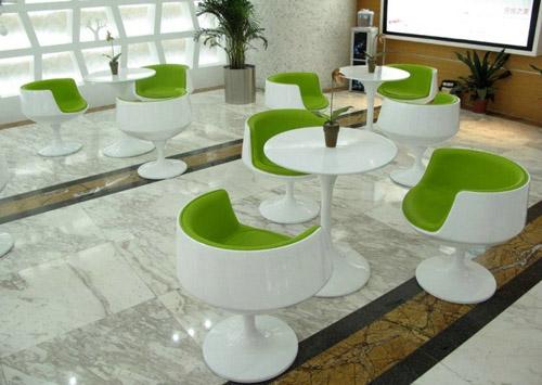广东玻璃钢茶几酒杯椅家具