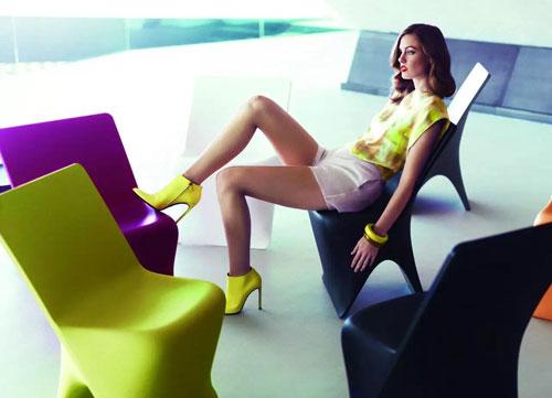 广西玻璃钢商场休闲座椅
