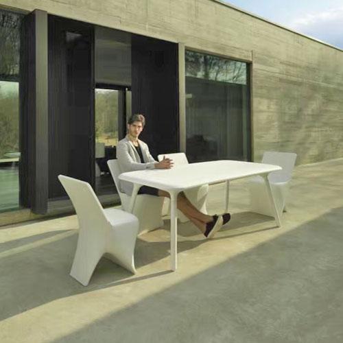 吉林玻璃钢商务休闲桌椅