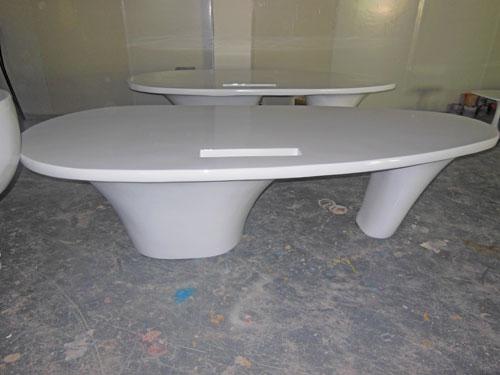 江西玻璃钢高档办公桌定制