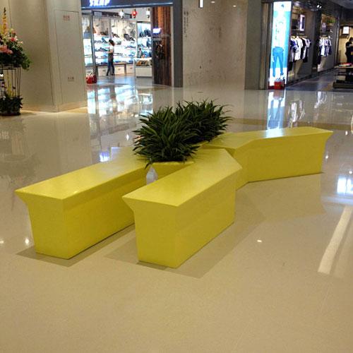 四川商场玻璃钢创意休闲椅