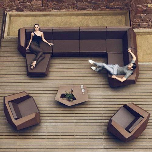 贵州玻璃钢组合家具