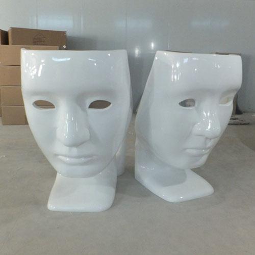 安徽玻璃钢面具椅脸谱创意椅子