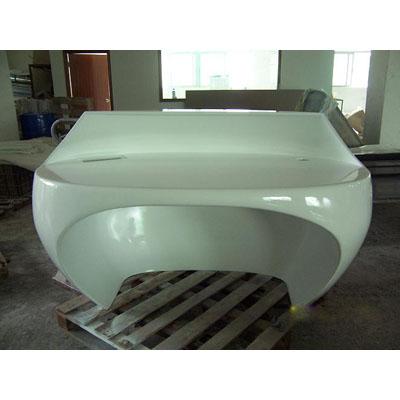 玻璃钢展柜ZG-003