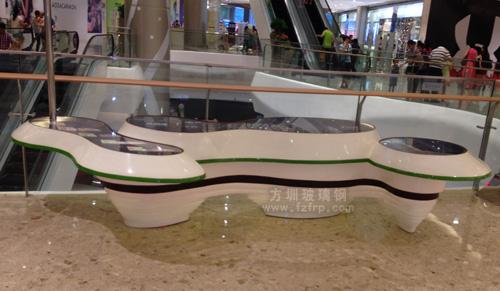 商场玻璃钢展示台