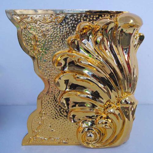 玻璃钢镀金工艺摆件