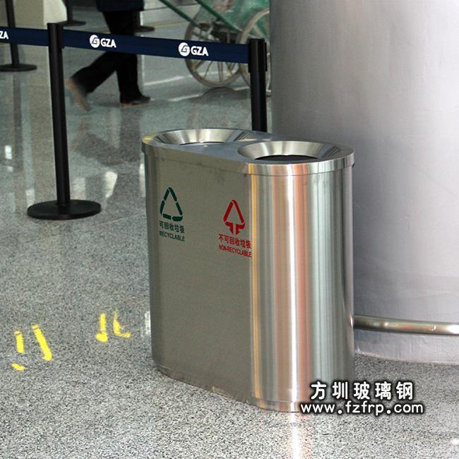 贵阳机场订购912个不锈钢垃圾桶与其他相关公共设施