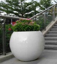 平湖地产大口径玻璃钢花盆