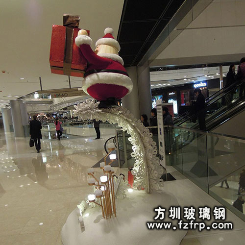 商场圣诞老人送礼物