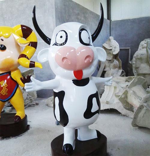安徽玻璃钢卡通公仔雕塑