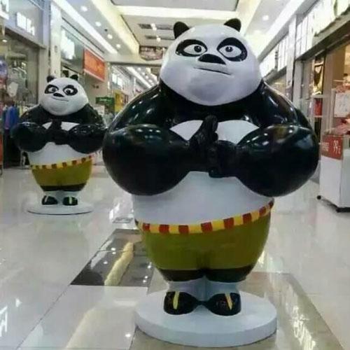 广州美陈玻璃钢卡通雕塑