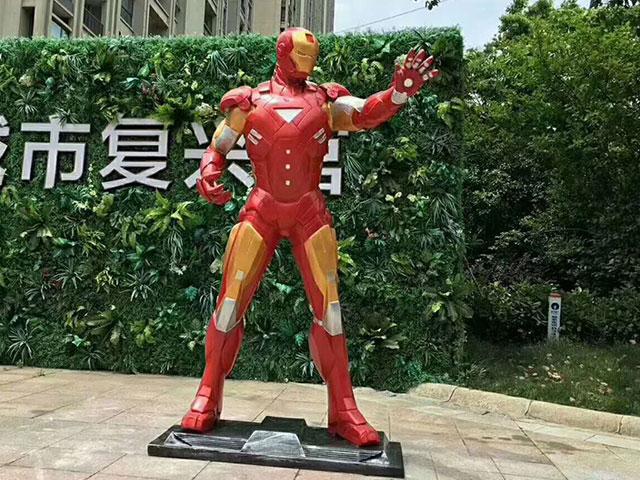 澳门玻璃钢动漫人物雕塑