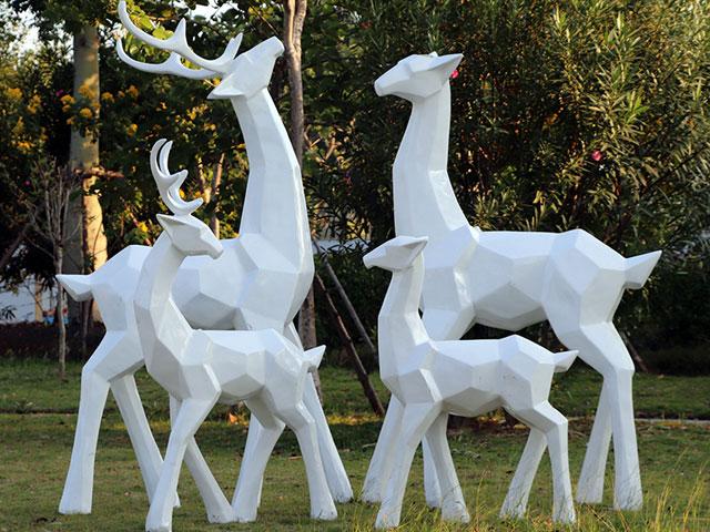 内蒙古玻璃钢切面雕塑
