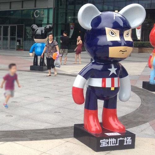 广州玻璃钢广场雕塑