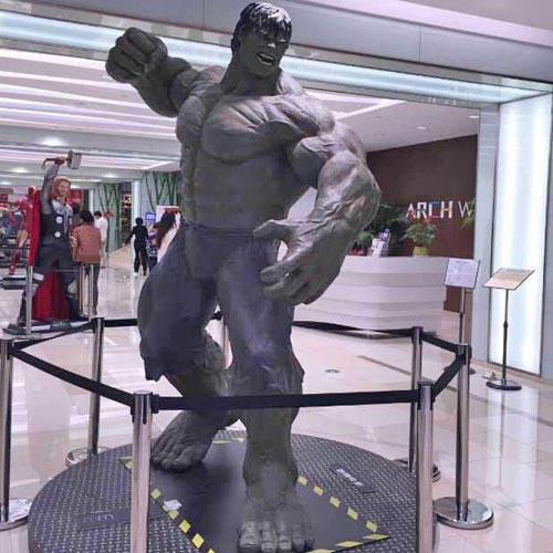 广东玻璃钢影视人物雕塑