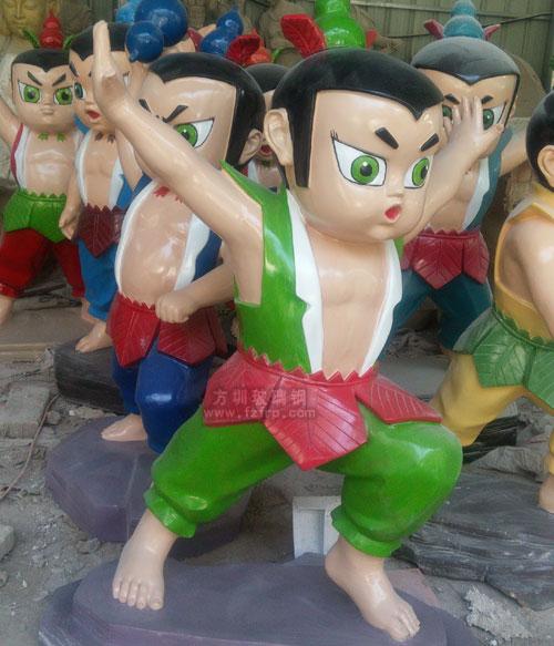 广东玻璃钢动漫人物雕塑