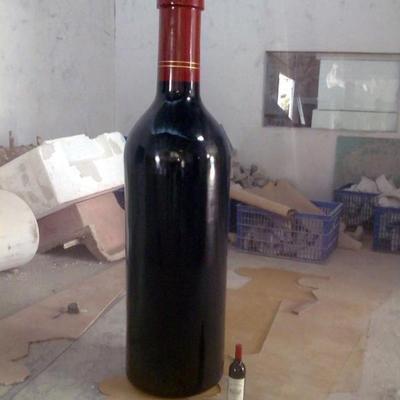 玻璃钢仿真红酒瓶模型